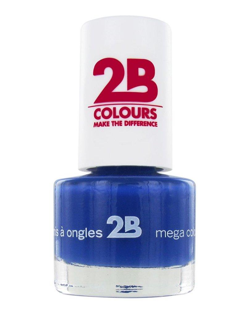 2B Cosmetics VERNIS à ONGLES MEGA COLOURS MINI - 31 Lapis Lazuli