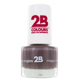 2B Cosmetics NAIL POLISH MEGA COLOURS MINI - 32 Taupe