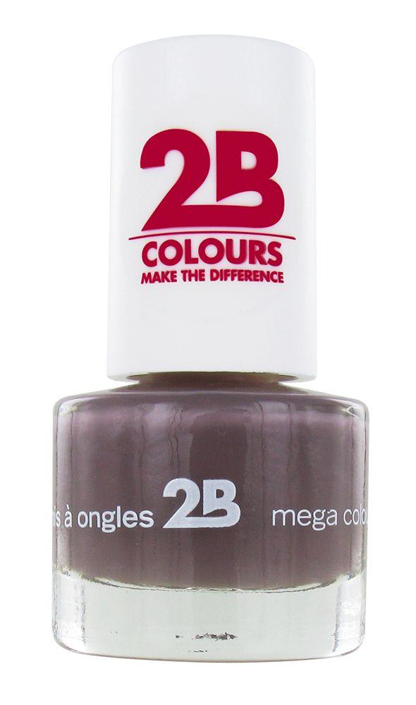 2B Cosmetics NAGELLAK MEGA COLOURS MINI - 32 Taupe