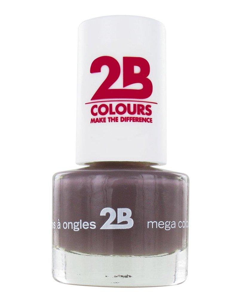 2B Cosmetics VERNIS à ONGLES MEGA COLOURS MINI - 32 Taupe