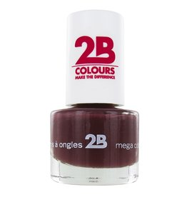 2B Cosmetics NAGELLAK MEGA COLOURS MINI - 33 Dark Chocolate