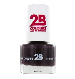 2B Cosmetics NAGELLAK MEGA COLOURS MINI - 35 Black Devil