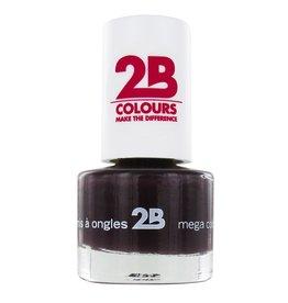 2B Cosmetics NAIL POLISH MEGA COLOURS MINI - 35 Black Devil