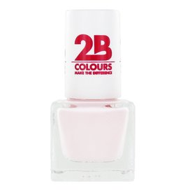 2B Cosmetics VERNIS à ONGLES MEGA COLOURS MINI - 55 Absolutely Nude