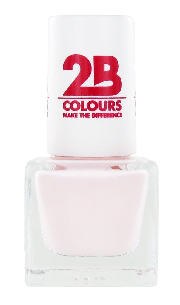 2B Cosmetics NAIL POLISH MEGA COLOURS MINI - 55 Absolutely Nude
