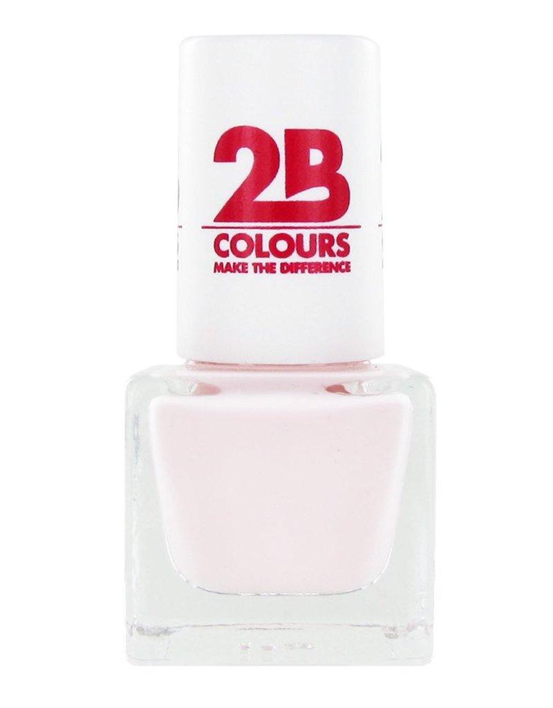 2B Cosmetics VERNIS à ONGLES MEGA COLOURS MINI - 55 Absolutely Nude