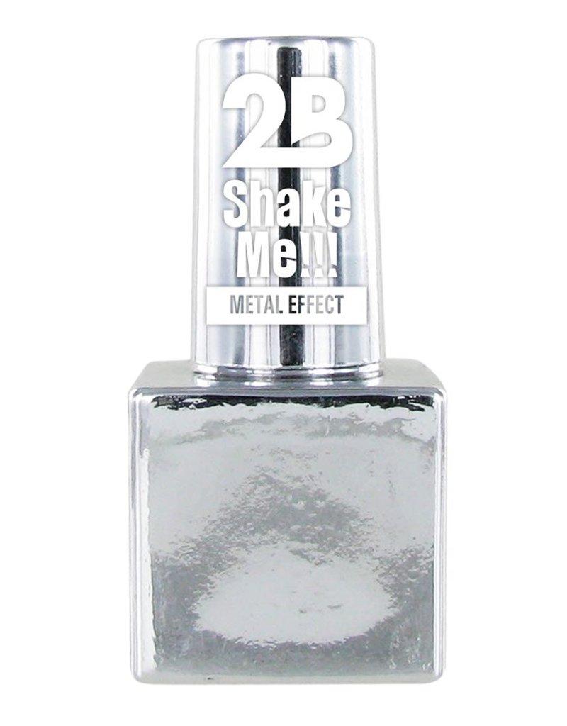 2B Cosmetics NAIL POLISH MEGA COLOURS MINI - 61 Metallic Silver
