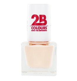 2B Cosmetics VERNIS à ONGLES MEGA COLOURS MINI - 56 Creamy Nude