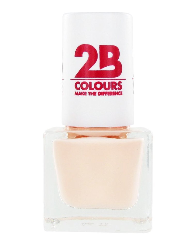 2B Cosmetics NAGELLAK MEGA COLOURS MINI - 56 Creamy Nude
