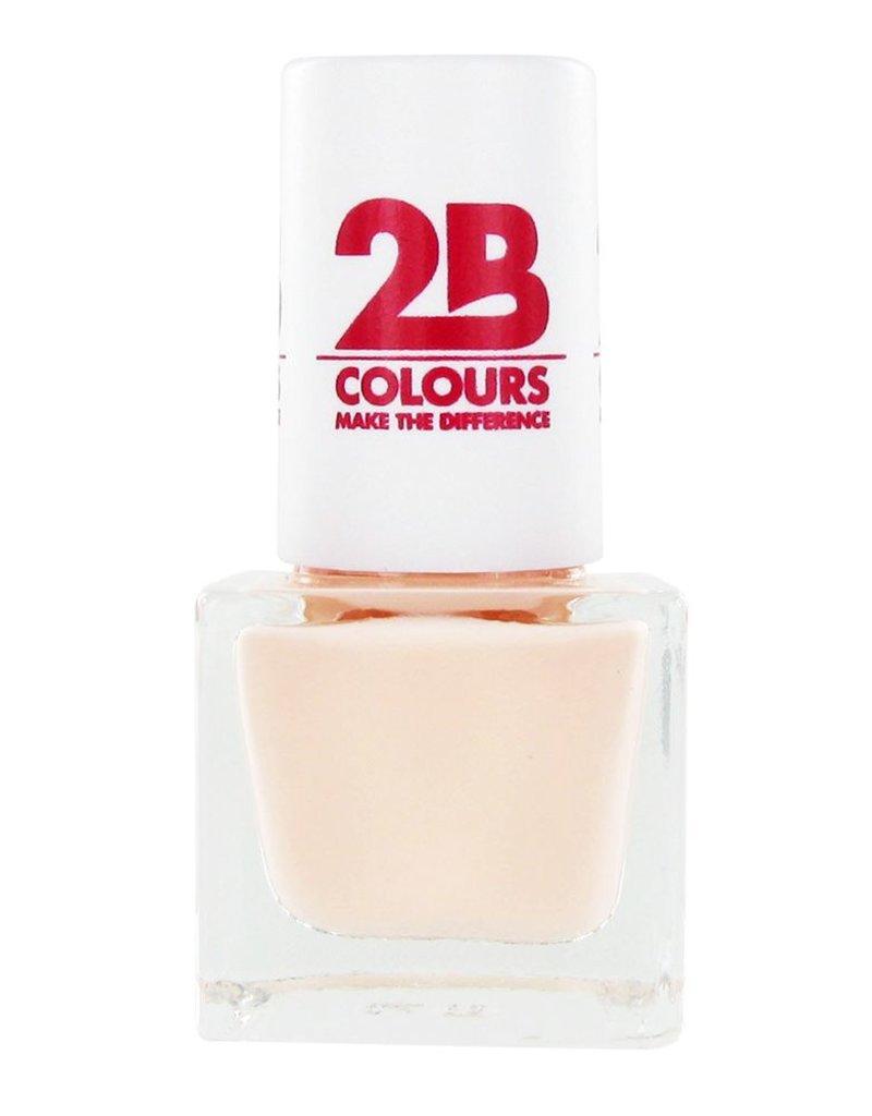 2B Cosmetics NAIL POLISH MEGA COLOURS MINI - 56 Creamy Nude