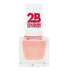 2B Cosmetics VERNIS à ONGLES MEGA COLOURS MINI - 57 Sweet Nude