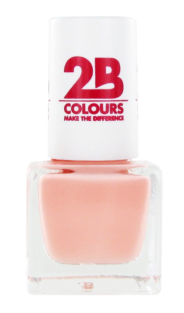 2B Cosmetics NAGELLAK MEGA COLOURS MINI - 57 Sweet Nude