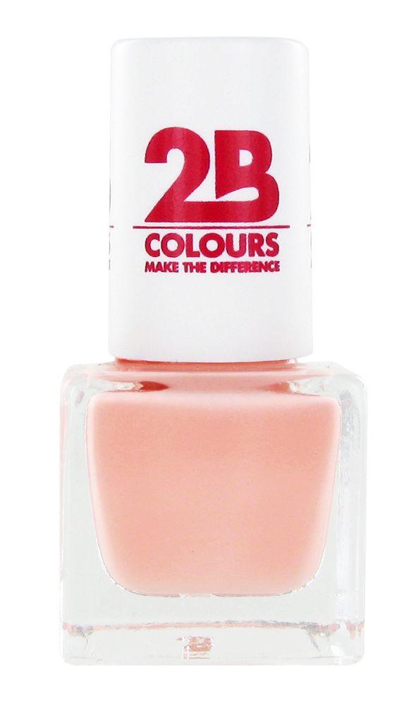 2B Cosmetics VERNIS à ONGLES MEGA COLOURS MINI - 57 Sweet Nude