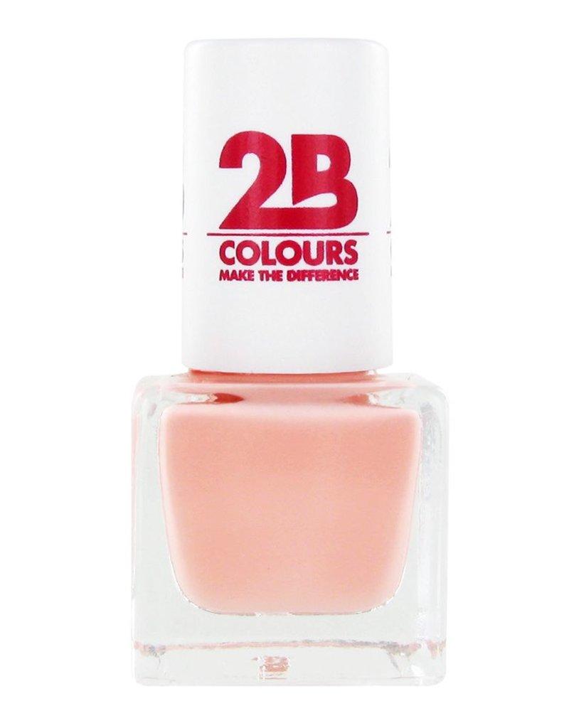2B Cosmetics NAIL POLISH MEGA COLOURS MINI - 57 Sweet Nude