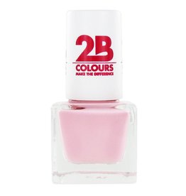 2B Cosmetics VERNIS à ONGLES MEGA COLOURS MINI - 58 So Nude!