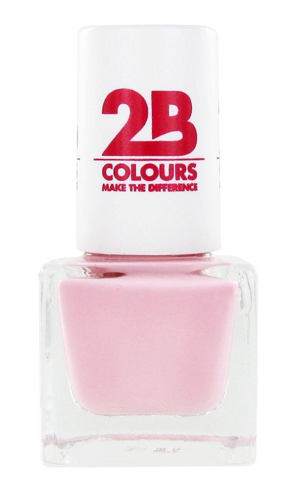 2B Cosmetics VERNIS à ONGLES MEGA COLOURS MINI - 58 So Nude!