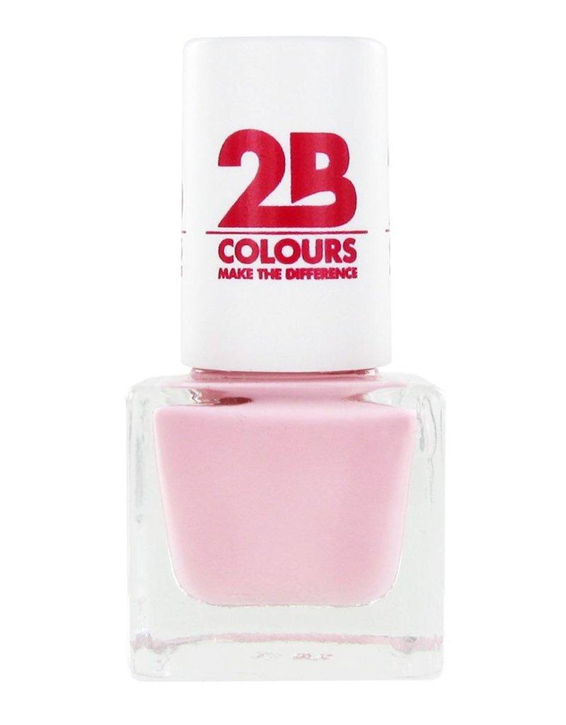 2B Cosmetics NAIL POLISH MEGA COLOURS MINI - 58 So Nude!