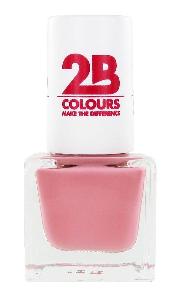 2B Cosmetics VERNIS à ONGLES MEGA COLOURS MINI - 59 So Romantic