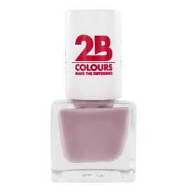 2B Cosmetics VERNIS à ONGLES MEGA COLOURS MINI - 60 Love Taupe