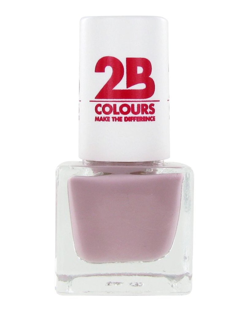 2B Cosmetics NAGELLAK MEGA COLOURS MINI - 60 Love Taupe