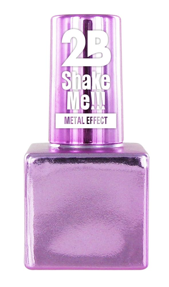 2B Cosmetics NAIL POLISH MEGA COLOURS MINI - 64 Metallic Pastel Pink