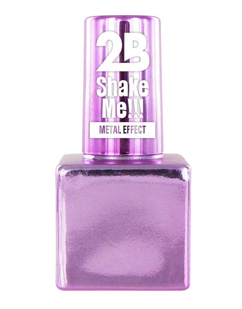 2B Cosmetics NAIL POLISH MEGA COLOURS MINI - 64 Metallic Pastel Pink