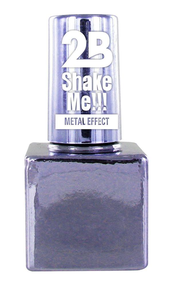 2B Cosmetics NAGELLAK MEGA COLOURS MINI - 65 Metallic Pastel Violet