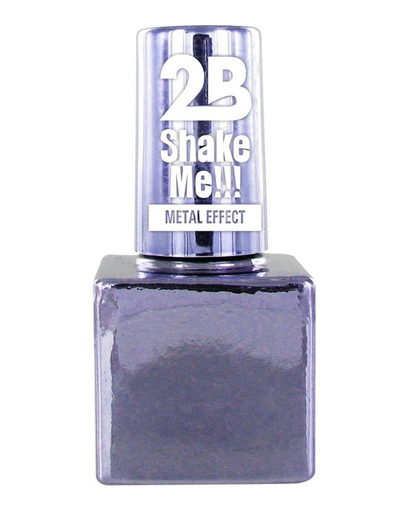 2B Cosmetics VERNIS à ONGLES MEGA COLOURS MINI - 65 Metallic Pastel Violet