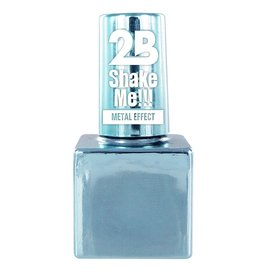 2B Cosmetics NAIL POLISH MEGA COLOURS MINI - 66 Metallic Pastel Blue
