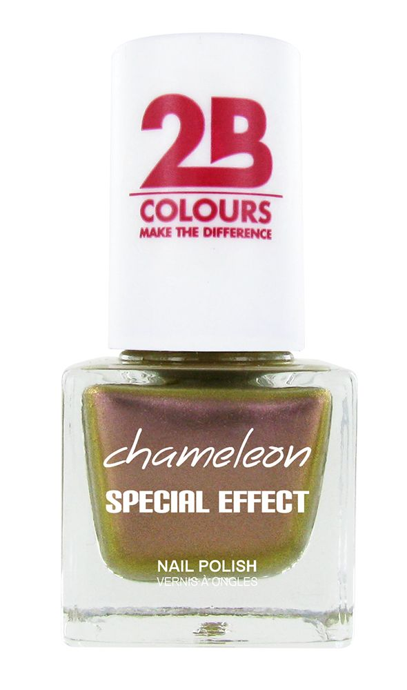 2B Cosmetics NAGELLAK MEGA COLOURS MINI - 70 Chameleon Special Edition - Dusty Pink