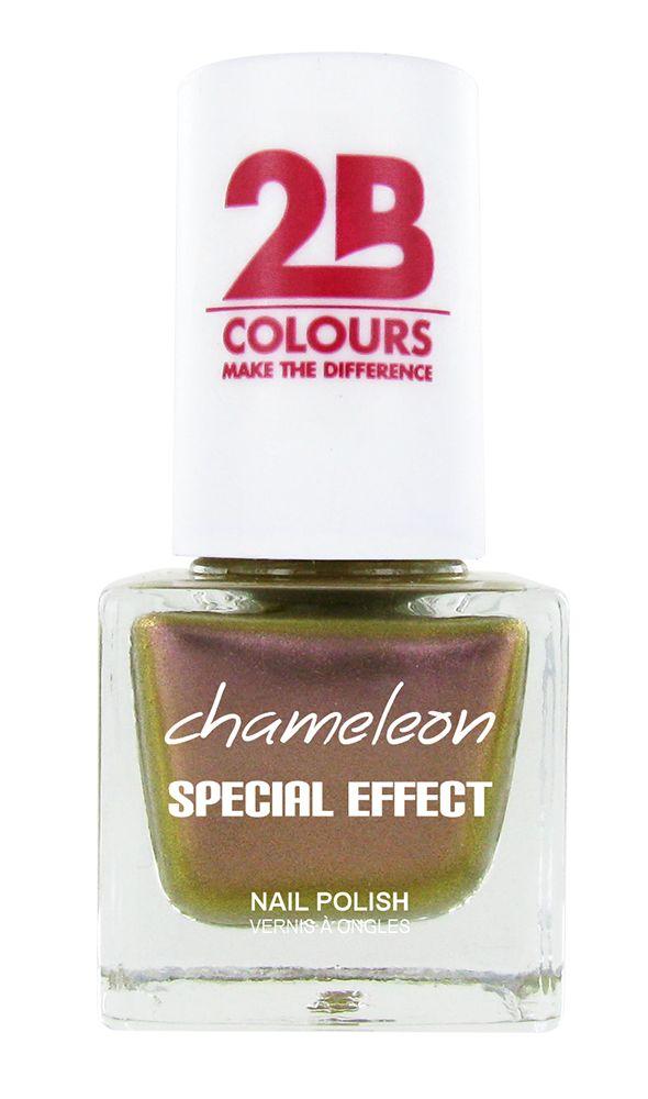 2B Cosmetics NAIL POLISH MEGA COLOURS MINI - 70 Chameleon Special Edition - Dusty Pink