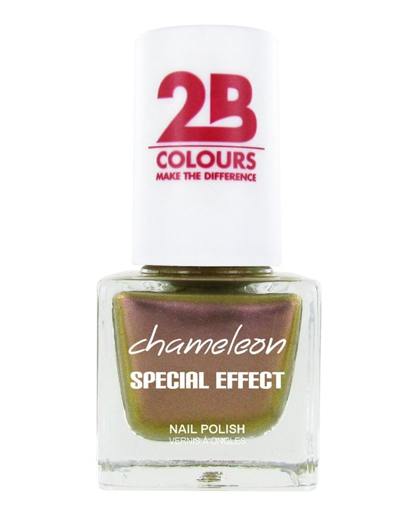 2B Cosmetics VERNIS à ONGLES MEGA COLOURS MINI - 70 Chameleon Special Edition - Dusty Pink