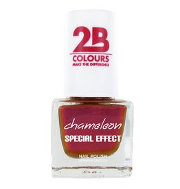 2B Cosmetics NAGELLAK MEGA COLOURS MINI - 71 Chameleon Special Edition - Papaya Mango Mix
