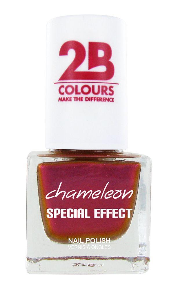 2B Cosmetics NAIL POLISH MEGA COLOURS MINI - 71 Chameleon Special Edition - Papaya Mango Mix