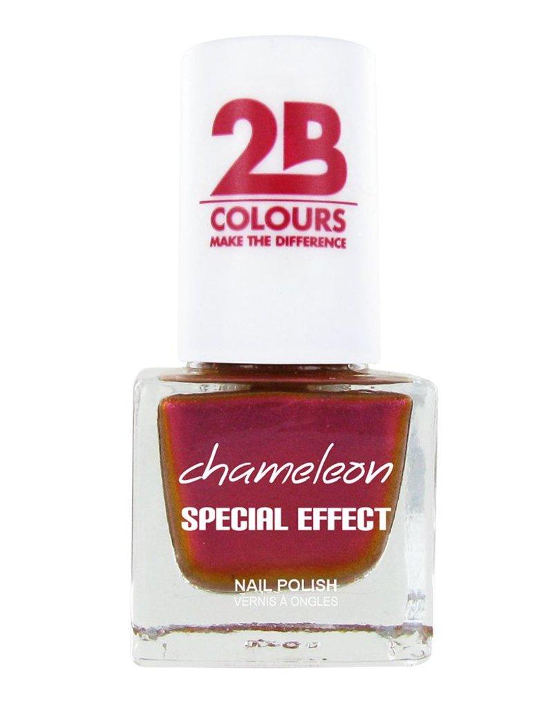2B Cosmetics VERNIS à ONGLES MEGA COLOURS MINI - 71 Chameleon Special Edition - Papaya Mango Mix