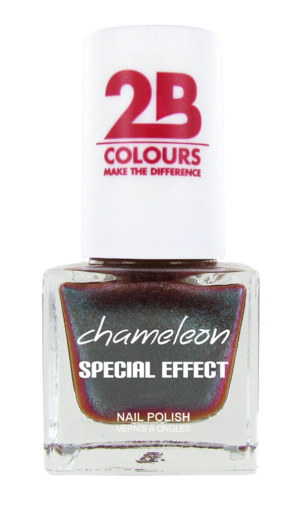2B Cosmetics VERNIS à ONGLES MEGA COLOURS MINI - 72 Chameleon Special Edition - Spring Break
