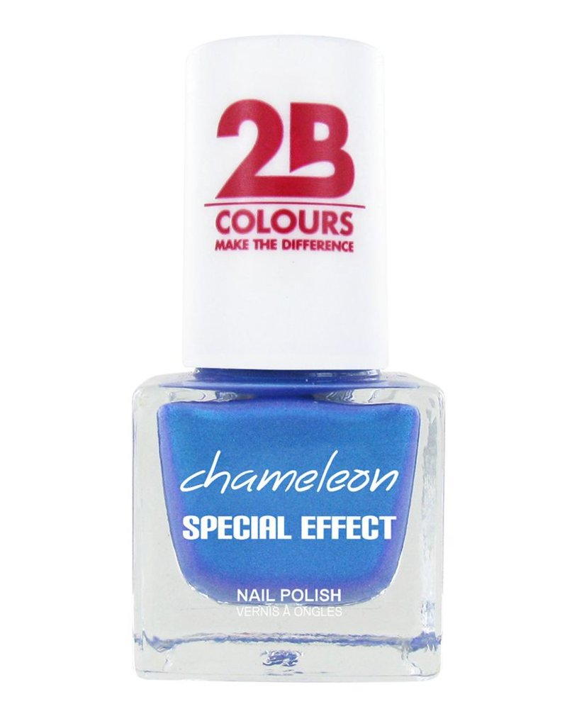 2B Cosmetics NAGELLAK MEGA COLOURS MINI - 74 Chameleon Special Edition - Turquoise Surfing