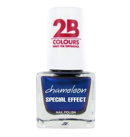 2B Cosmetics NAIL POLISH MEGA COLOURS MINI - 75 Chameleon Special Edition - Chrystal Blue
