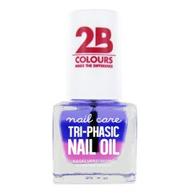 2B Cosmetics SOIN DES ONGLES MEGA COLOURS MINI - 67 Tri-phasic nail oil