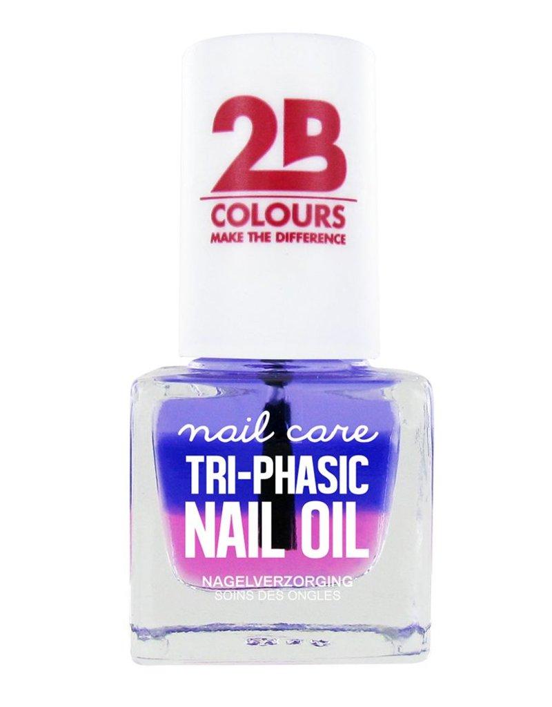 2B Cosmetics SOIN DES ONGLES MEGA COLOURS MINI - 67 Tri-phasic nail oil