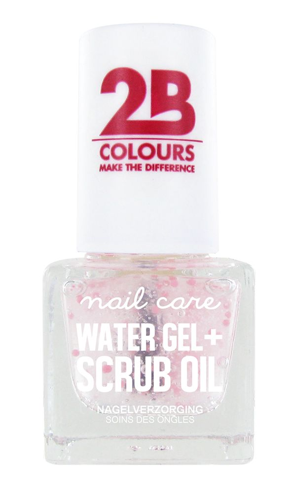 2B Cosmetics NAIL CARE MEGA COLOURS MINI - 68 Watergel + Scrub oil