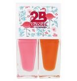 2B Cosmetics Vernis à Ongles Duo - Summer 01
