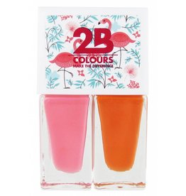 2B Cosmetics Nail polish Duo - Summer 01