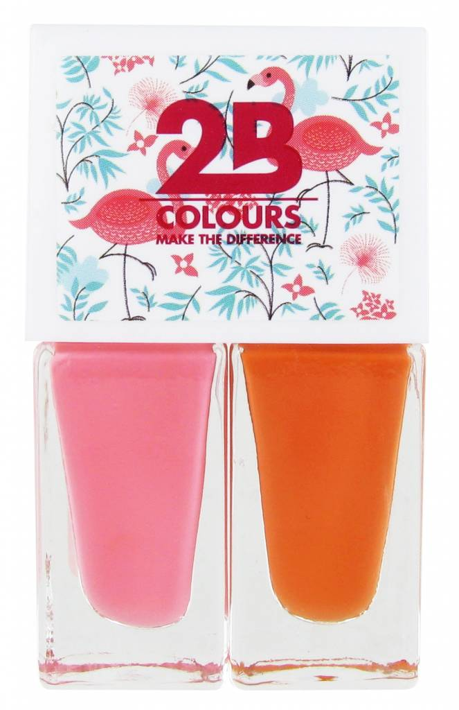 2B Cosmetics Nagellak Duo - Summer 01