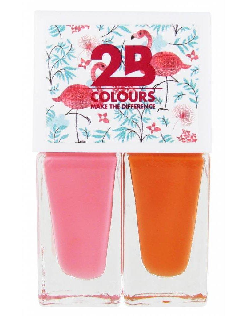 2B Cosmetics Nagellak Duo - Summer 01