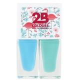 2B Cosmetics Nagellak Duo - Summer 02