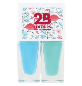 2B Cosmetics Nagellak Duo - Summer 02