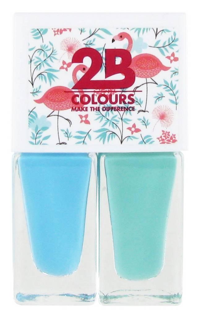 2B Cosmetics Nail polish Duo - Summer 02