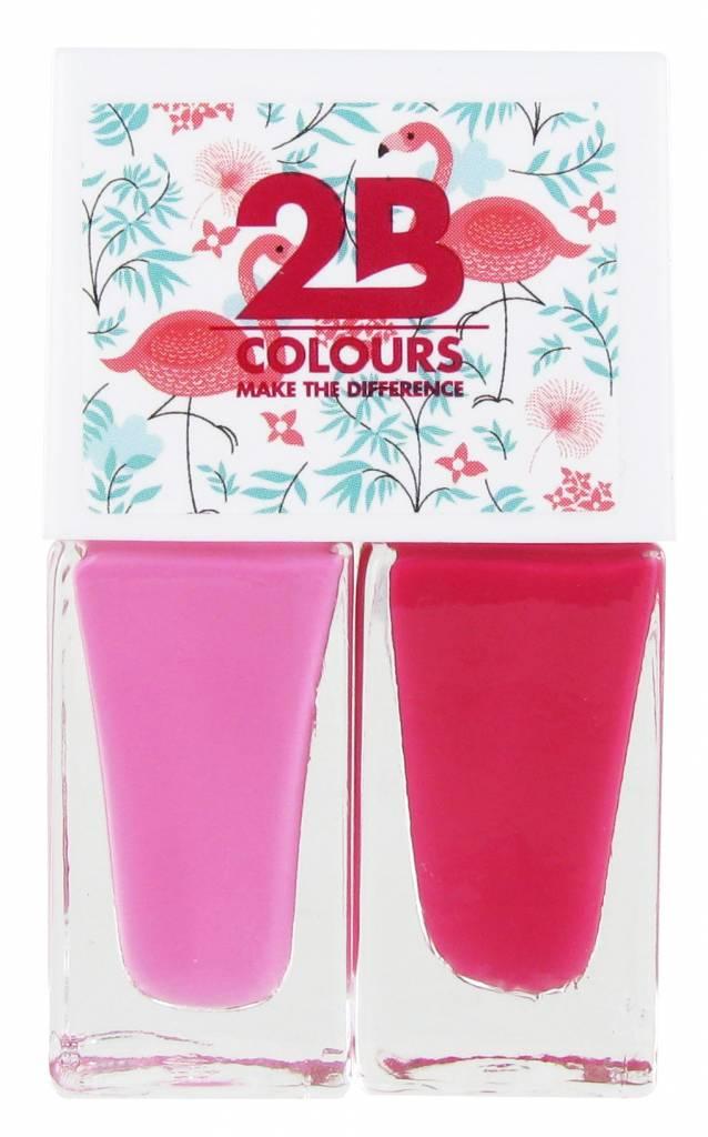 2B Cosmetics Nagellak Duo - Summer 03