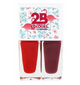 2B Cosmetics Nagellak Duo - Summer 04